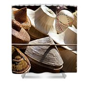 Hats For Sale Shower Curtain