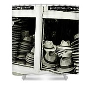Hats Of Bruges Shower Curtain