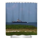 Hatteras Ferry To Ocracoke 2 Shower Curtain