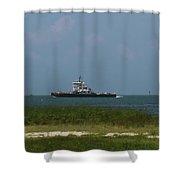 Hatteras Ferry To Ocracoke Shower Curtain