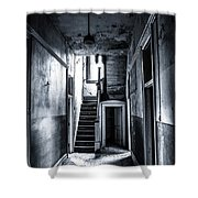 Haunted Hallway Shower Curtain