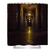 Haunted Hallways Shower Curtain