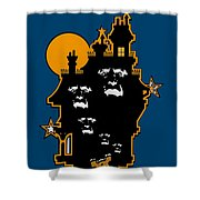 Haunted Shower Curtain