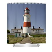 Haunted Lighthouse. Shower Curtain