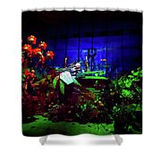Haunted Mansion's Nightmare Before Christmas Shower Curtain