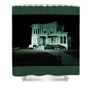 Haunted Merit Shower Curtain