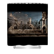 Haunted Stable Shower Curtain