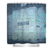Haunting House Shower Curtain