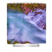 Torrent Waterfall 2 Shower Curtain