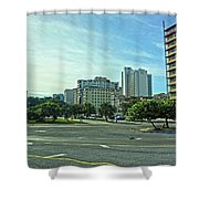 Havana-42 Shower Curtain