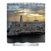 Havana Castillo 2 Shower Curtain