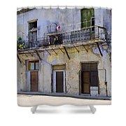 Havana City Apartments  Shower Curtain