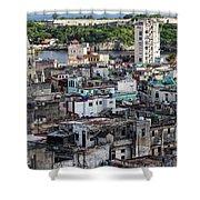 Havana Cityscape Shower Curtain