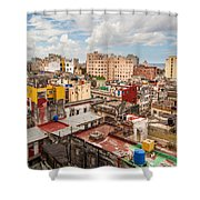 Havana From Above Shower Curtain