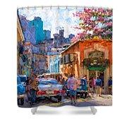 Havana In Bloom Shower Curtain