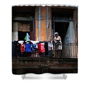 Havana Laundry No. 1 Shower Curtain