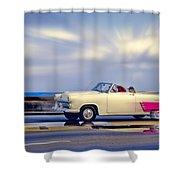 Havana Malecon 2 Shower Curtain