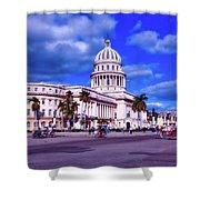 Havana National Capitol Shower Curtain