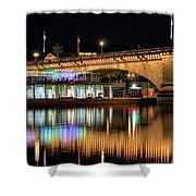 Havasu At Night Shower Curtain
