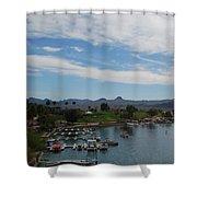 Havasu City Az Waterfront Shower Curtain