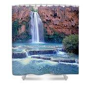 Havasu Falls - Grand Canyon Shower Curtain