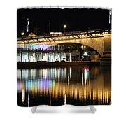 Havasu Nights Shower Curtain