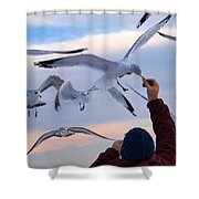 Have A Cracker Shower Curtain