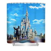 Have A Magical Day Shower Curtain