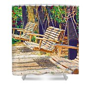 Have A Seat Relax Shower Curtain