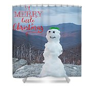 Have A Very Merry Christmas Shower Curtain