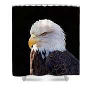 Have My Eye On You Two Shower Curtain