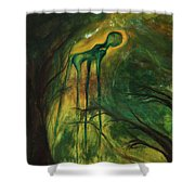 Have You Seen My Dali? Shower Curtain