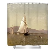 Haverstraw Bay Shower Curtain