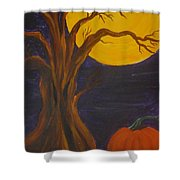 Havest Moon  Shower Curtain