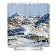 Havre Badlands No. 1 Shower Curtain