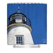 Havre De Grace Lighthouse 2 Shower Curtain