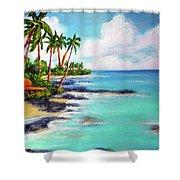 Hawaii North Shore Oahu #472 Shower Curtain