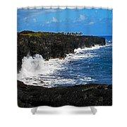 Hawaii Ocean Coast 2 Shower Curtain
