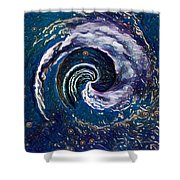 Hawaii Storm Not 6 Shower Curtain