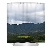 Hawaii Valleys Shower Curtain
