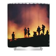Hawaii Volcanoes National Park Shower Curtain