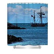 Hawaiian Chieftain-2 Shower Curtain