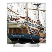Hawaiian Chieftan Shower Curtain