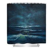 Hawaiian Enchanted Sea #431 Shower Curtain