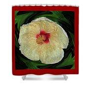Hawaiian Hybiscus Shower Curtain