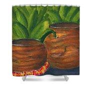 Hawaiian Koa Wooden Bowls #426 Shower Curtain
