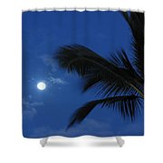 Hawaiian Moon Shower Curtain