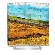Hawaiian Pasture Shower Curtain