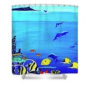 Hawaiian Reef Fish Nimo #193 Shower Curtain
