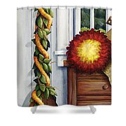 Hawaiian Still Life Panel Shower Curtain